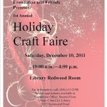 First Annual Santa Clara City Library Foundation & Friends Holiday Craft Faire