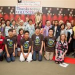 Volunteers of the Santa Clara Library Foundation & Friends at the annual volunteer recognition event.