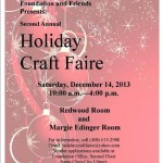 The Second Annual Holiday Craft Faire