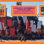 Upcoming Rally for the Northside Library / Please sign our online petition to get this library opened