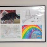New Artwork in Teen Area from Sister Cities Visitors