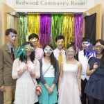 Teens Hold Mystery Masquerade at Library